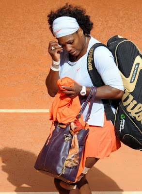 Black Tennis Pro's Serena Williams Madrid