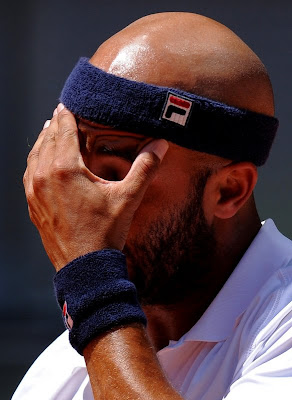 Black Tennis Pro's James Blake Mutua Madrilena Madrid Open