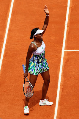 Black Tennis Pro's Venus Williams 2009 French Open