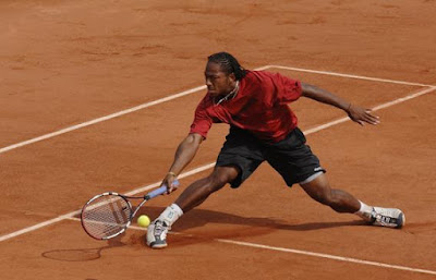 Black Tennis Pro's Scoville Jenkins French Open Qualifying Second Round