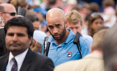 Black Tennis Pro's James Blake AEGON Championships