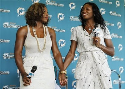 Black Tennis Pro's Venus And Serena Williams Assume Minority Ownership In Miami Dolphins