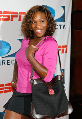 Black Tennis Pro's Serena Williams DirecTV ESPN U.S. Open Experience