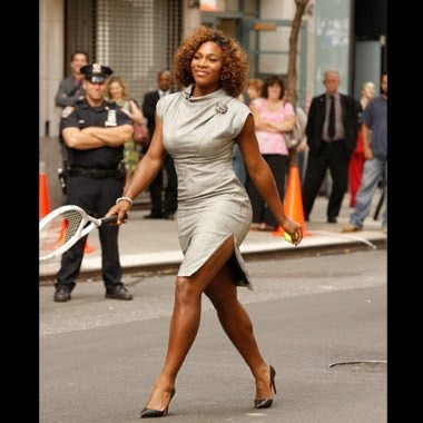 Black Tennis Pro's Serena Williams on the Tyra Show