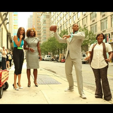 Black Tennis Pro's Serena Williams, Michael Strahan and Tyra Banks on the Tyra Show