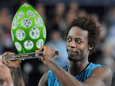 gael monfils hot. Gael Monfils of France