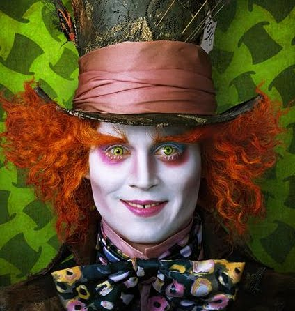 mad hatter johnny depp eyes