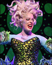 She currently is playing Ursula the Sea Witch in Disneyu0027s newest Broadway musical THE LITTLE MERMAID. Check out the amazing costume!  sc 1 st  My World! & My World!: The Little Mermaid: The Broadway Musical