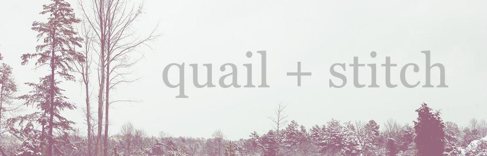 The Quail Stitch
