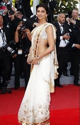 Deepika Padukone in saree at 63rd cannes 34