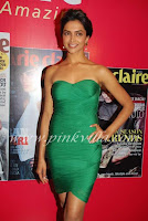 Deepika Padukone Launch Marie Claire Oct 2010 issue