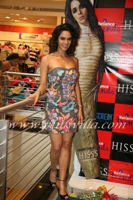 Mallika Sherawat Promotes Hiss