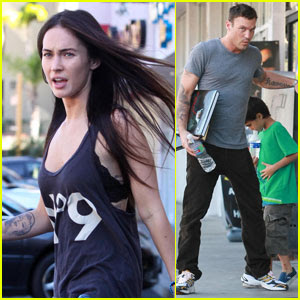 Megan Fox and husband Brian Austin Green