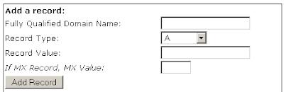 membuat CNAME record DNS