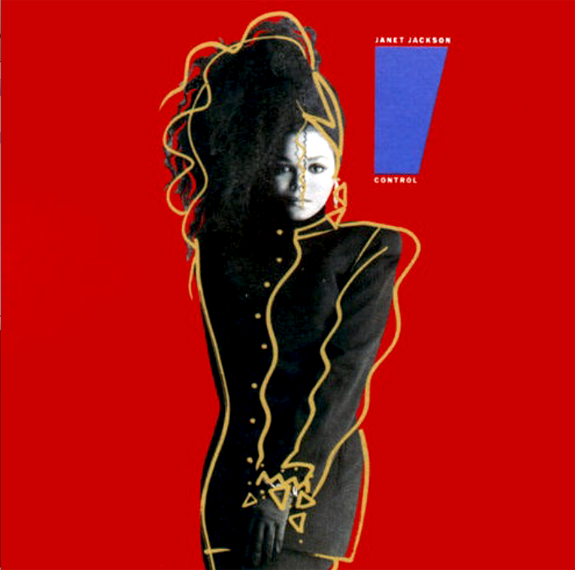 Control Janet Jackson Album Cover Album artwork for janet