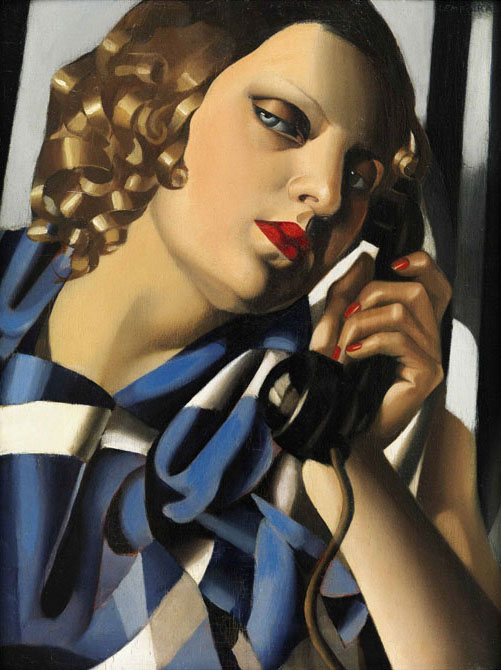 inspirational imagery tamara de lempicka. Black Bedroom Furniture Sets. Home Design Ideas