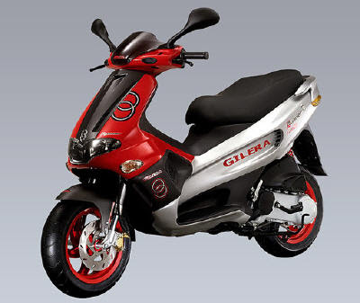 They might not be marketing the Gilera Ferro as