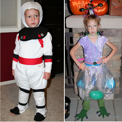 was complicated by the arrival of baby 3 we ended up with two my son was an astronaut and my daughter a sassy alien