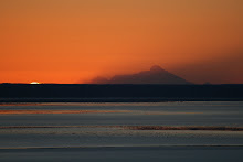 Sunset next to Mt. Redoubt