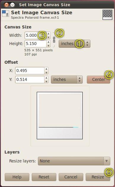 Bien-aimé Ubuntu Digest: Polaroid frame effect using GIMP [Update] WM99