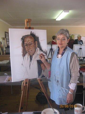 Lizette Kruger en die portret van haar man