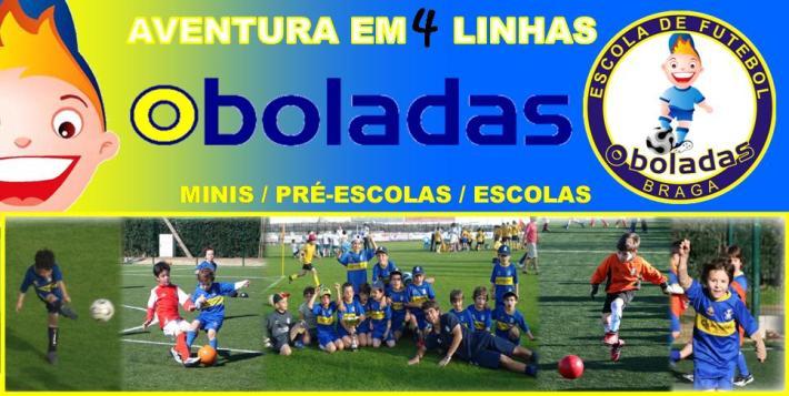 escola de futebol Oboladas