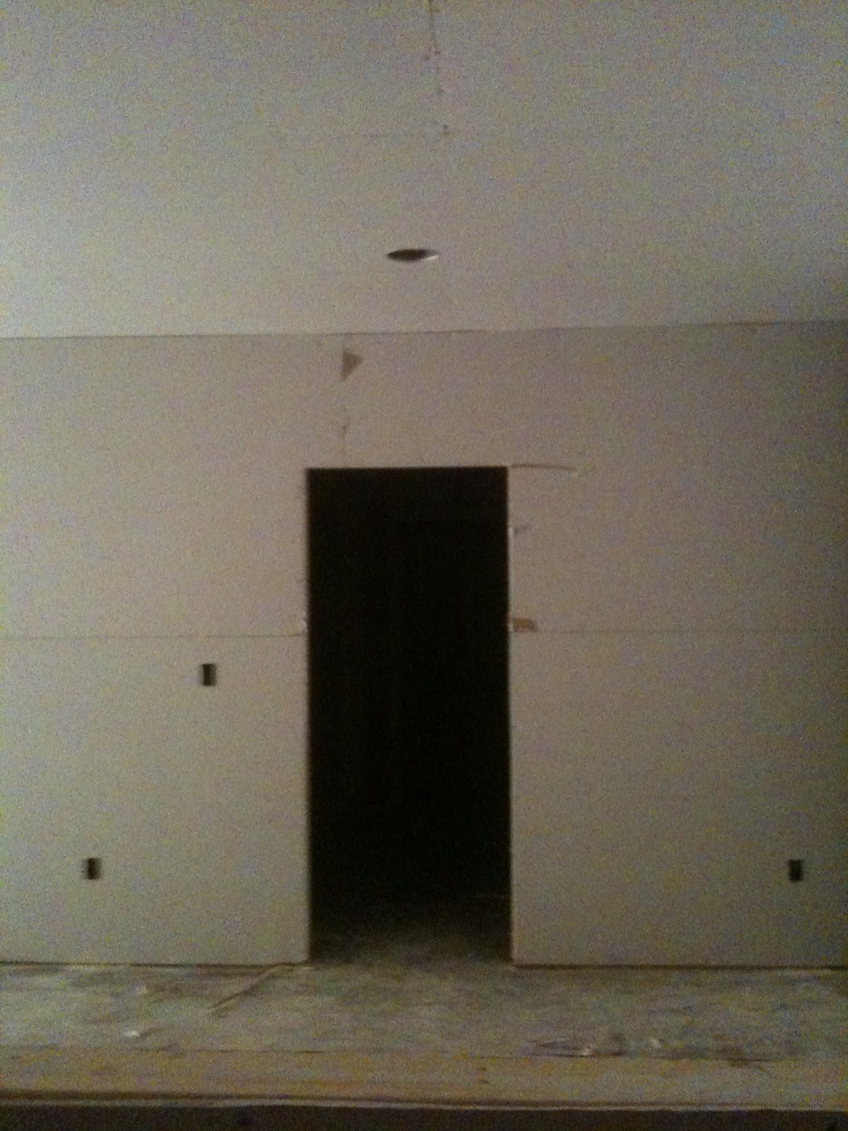 basement drywall complete