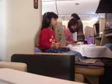 Asian lady missed flight