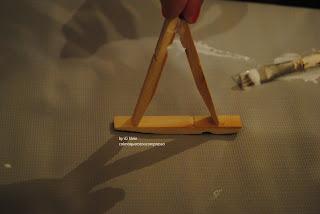 كراسي صغيرة مشابك الغسيل artesanatolucia 1259