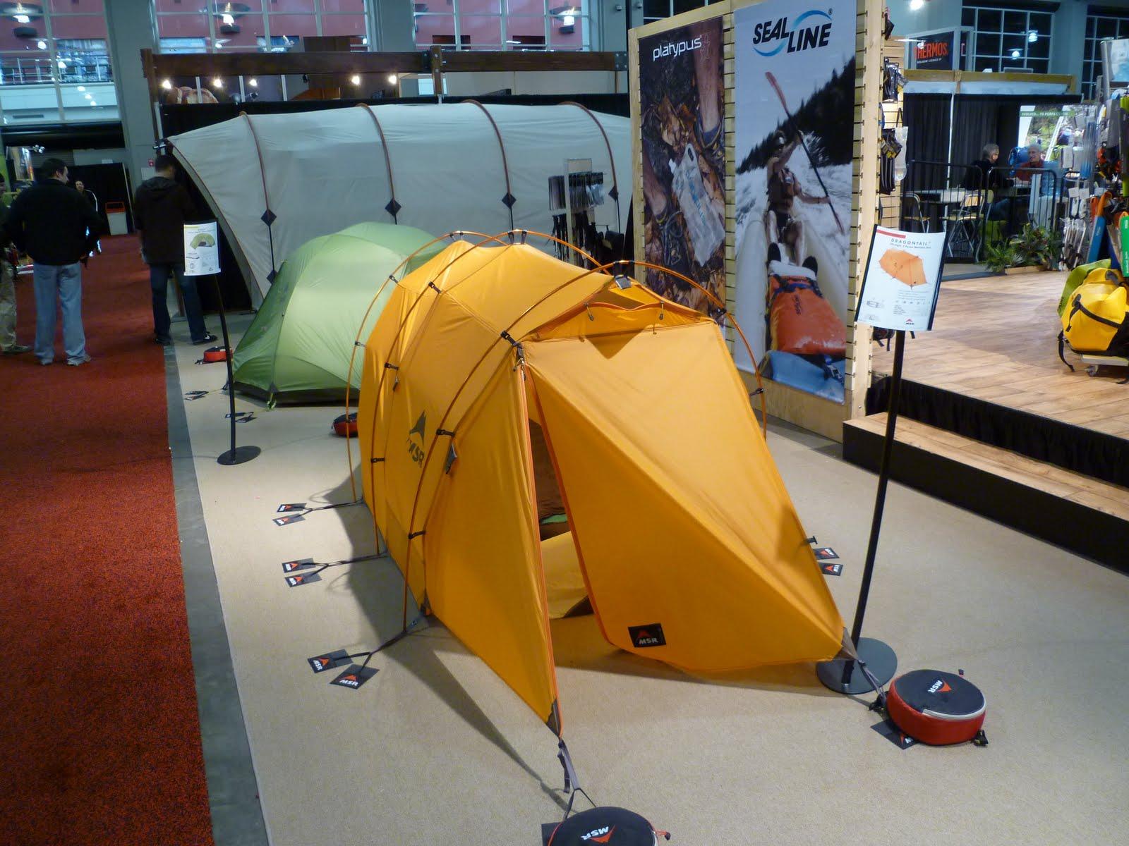 MSR - Hoop Trail Tent & SmallFrye-Travels: Outdoor Retailer Show 1/23/11