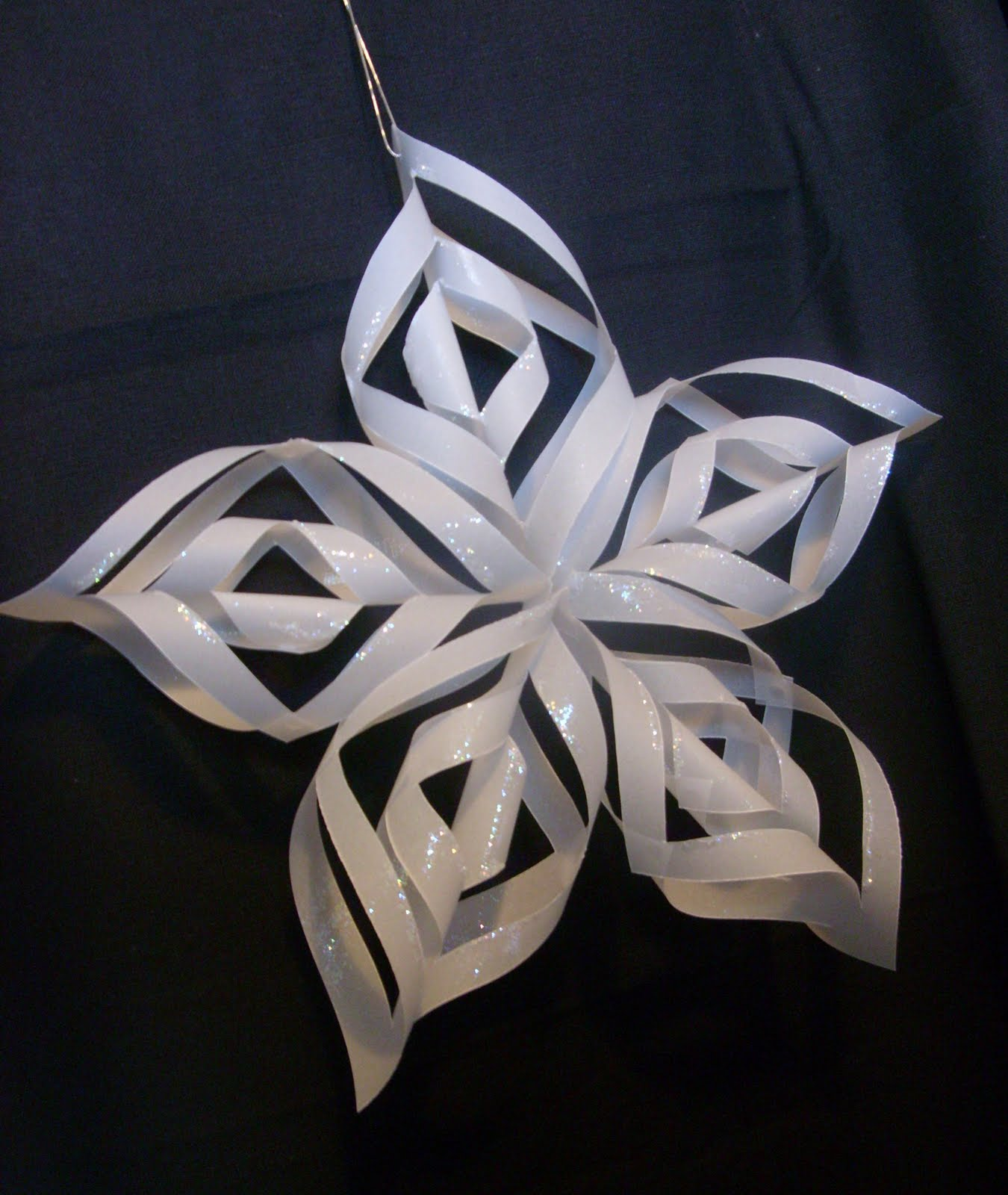 Cornwall crafty stamper tutorials christmas star - Estrellas de papel ...