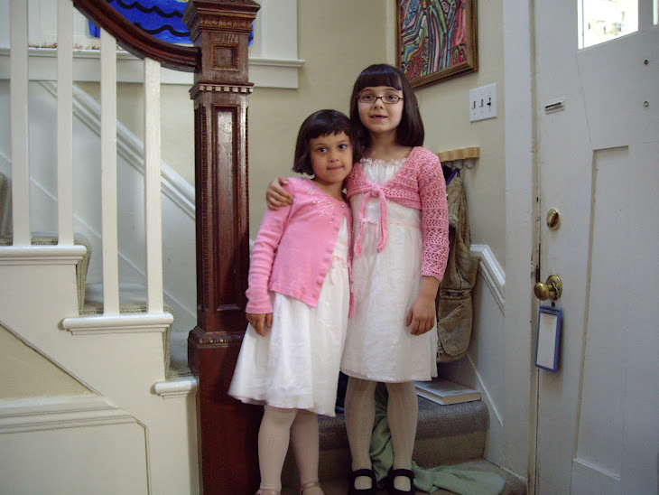 Zahra + Sophia (great grandchildren)