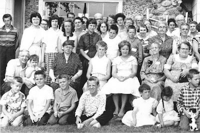 Parkman family reunion 1957