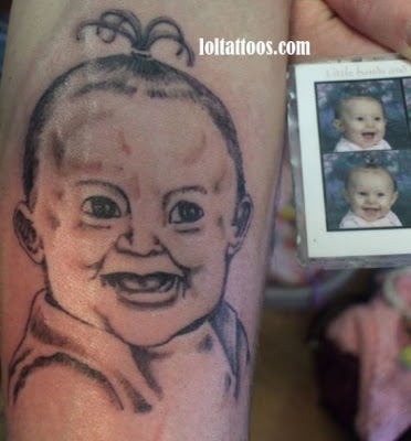 The secrets behind Angelina's baby tattoos. Baby tattoo designs - 10 Pics