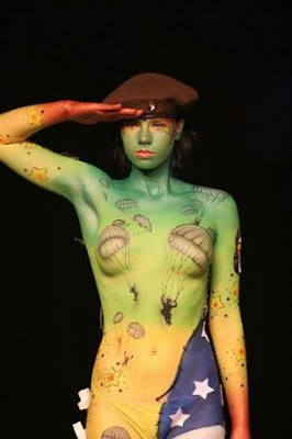 Full Body Painting Pic