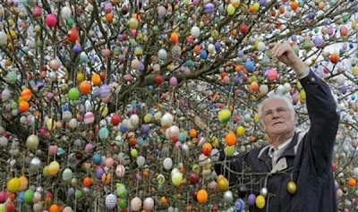 easter egg tree decorations