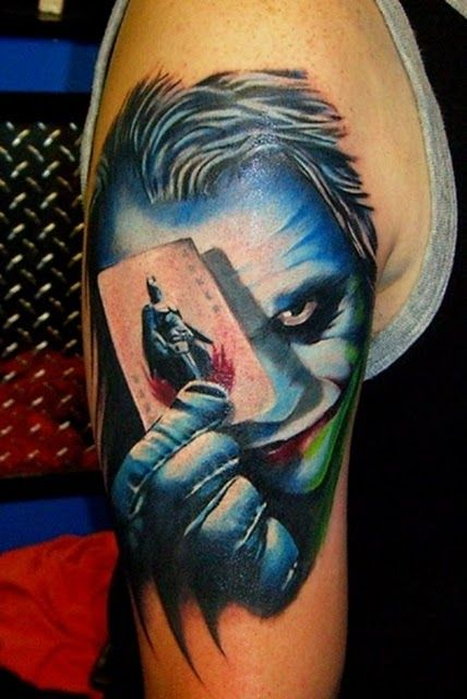 23 Cool Superhero Tattoos | ForeverGeek