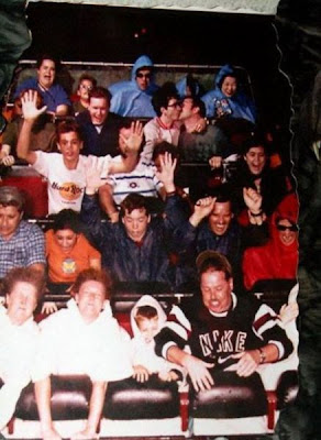 Funny facial expressions of people on roller coaster www.coolpicturegallery.net