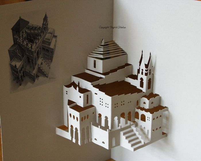 20 Awesome Origami Architecture Curious Funny Photos