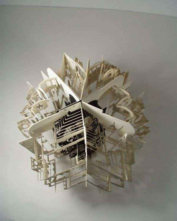 20 awesome origami architecture curious funny photos for Architecture origami