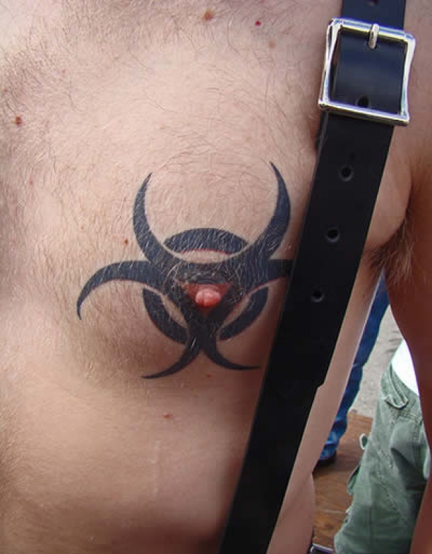 Weird, Unusual Male Tattoos - NSFW
