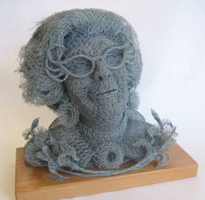Amazing sculptures created in galvanised chicken wire by Ivan Lovatt Seen On www.coolpicturegallery.net
