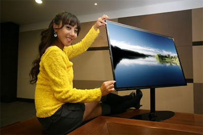 Samsung Thinnest Ever HDTV