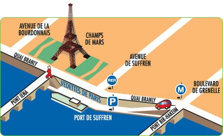 Os caminhos por onde andei passeando de bateaux mouches - Bateaux parisiens port de la bourdonnais ...