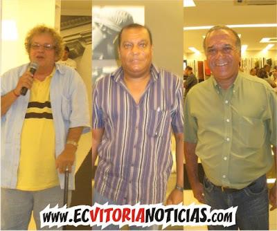 Juarez Wanderley, Roque Mendes e Silvoney Sales