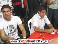 Vanderson e Ramon Menezes - EC Vitória