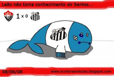 Vitória vence o Santos no Barradão!