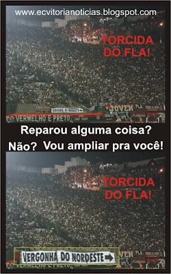 Torcida Nordestina do Flamengo envergonha o Nordeste!