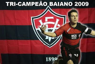 Esporte Clube Vitória TRIcampeão Baiano 2009