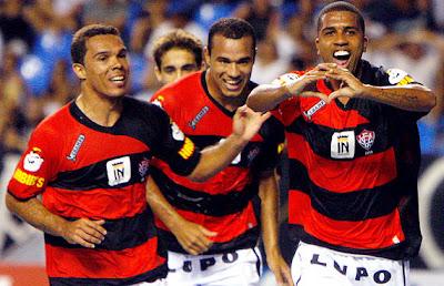 Leandro Domingues, Roger e Leandrinho - EC Vitória